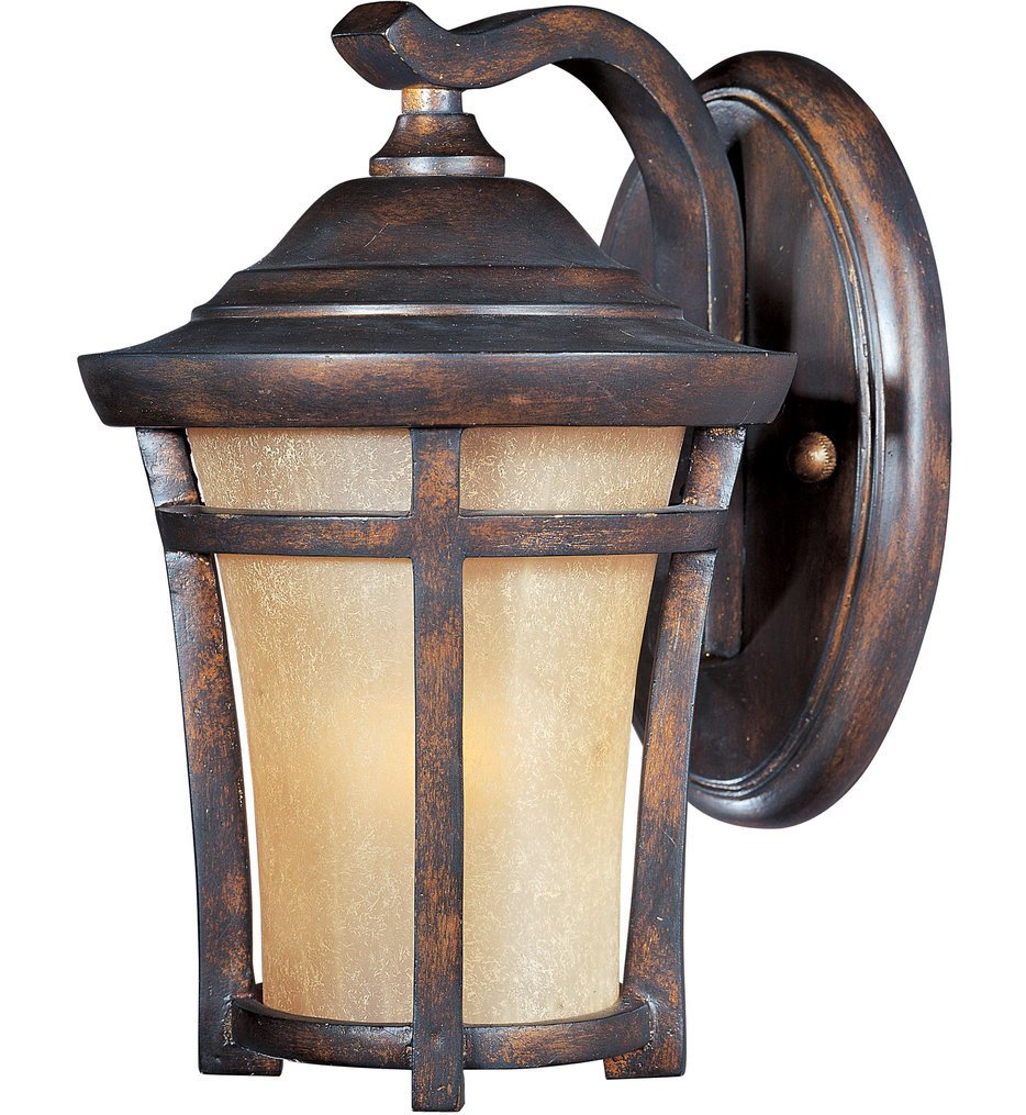 Maxim Lighting - 55162GFCO - Balboa Copper Oxide 9.5 Inch LED Outdoor Wall Sconce