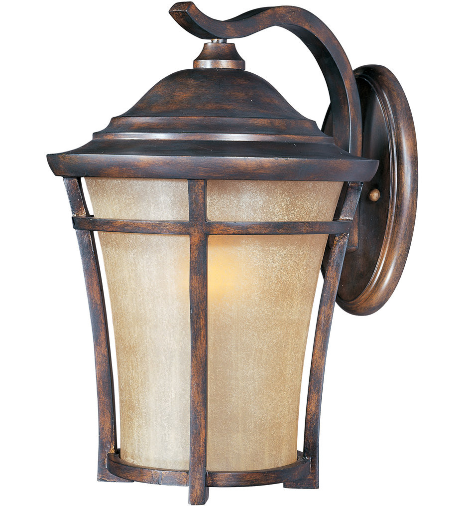 Maxim Lighting - 55165GFCO - Balboa Copper Oxide 17.5 Inch LED Outdoor Wall Sconce