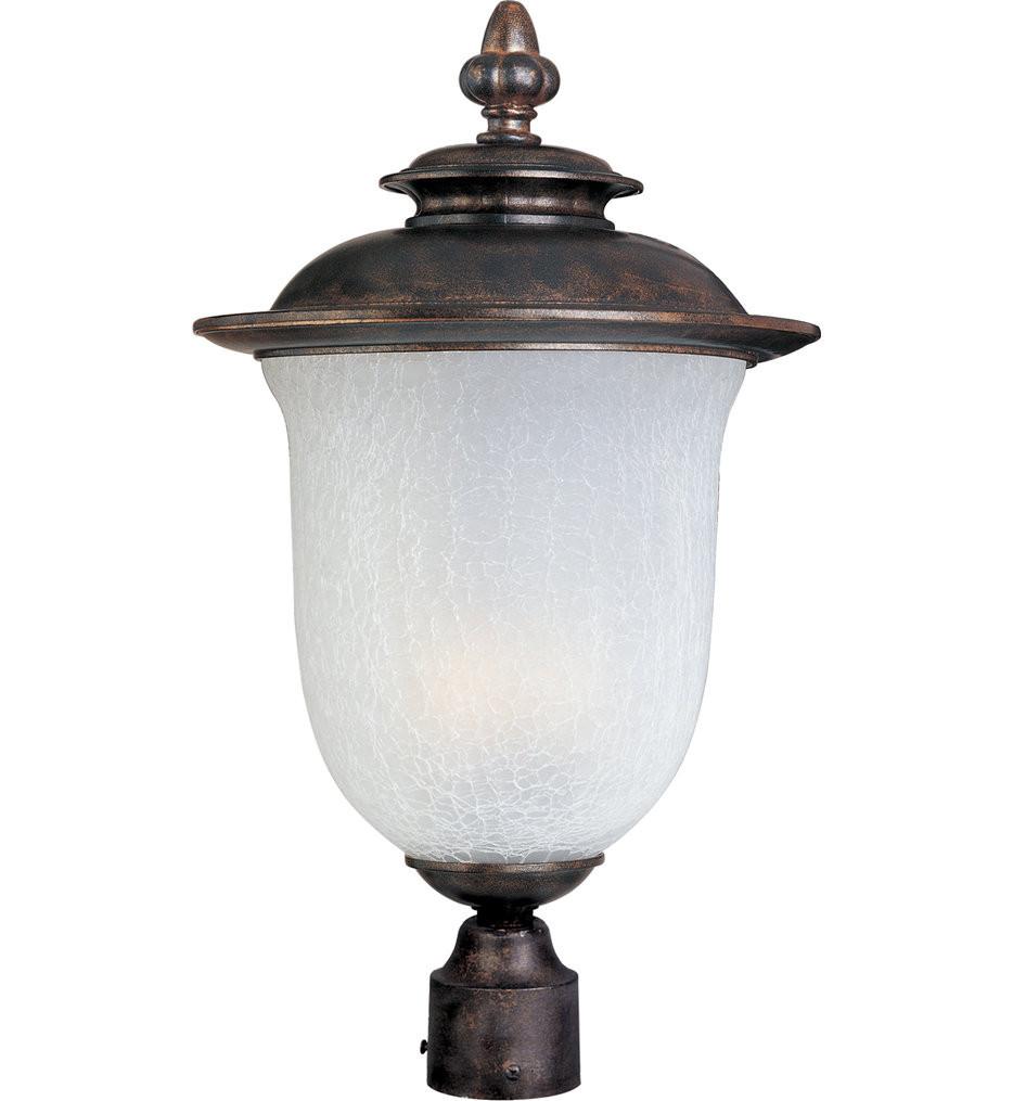 Maxim Lighting - Cambria Chocolate 22 Inch Outdoor Post Light