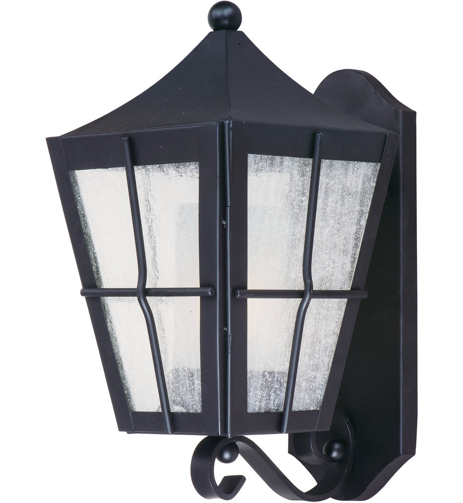 Maxim Lighting - Revere Black 14.5 Inch Outdoor Wall Mount
