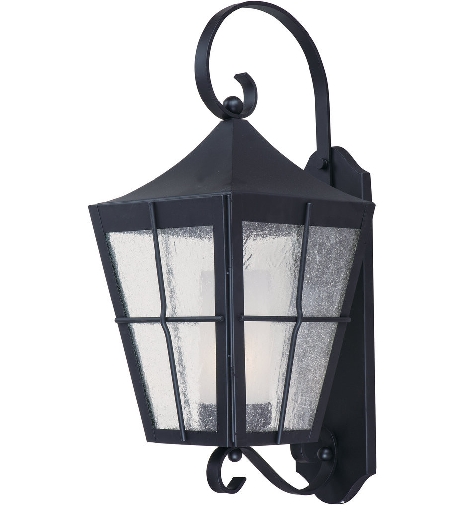 Maxim Lighting - Revere Black 23.5 Inch Outdoor Wall Mount