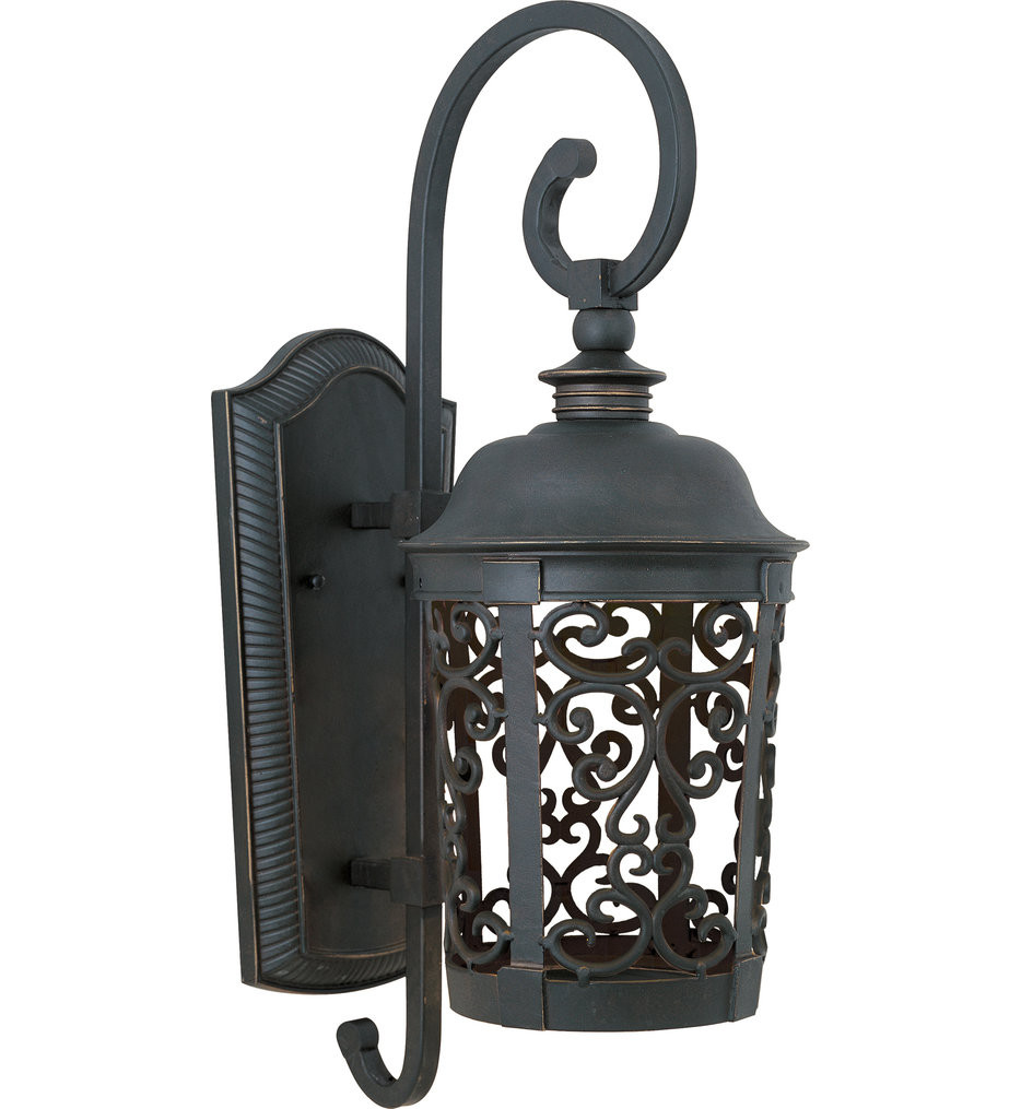 Maxim Lighting - 55394BZ - Whisper Bronze 24.5 Inch Outdoor Wall Mount