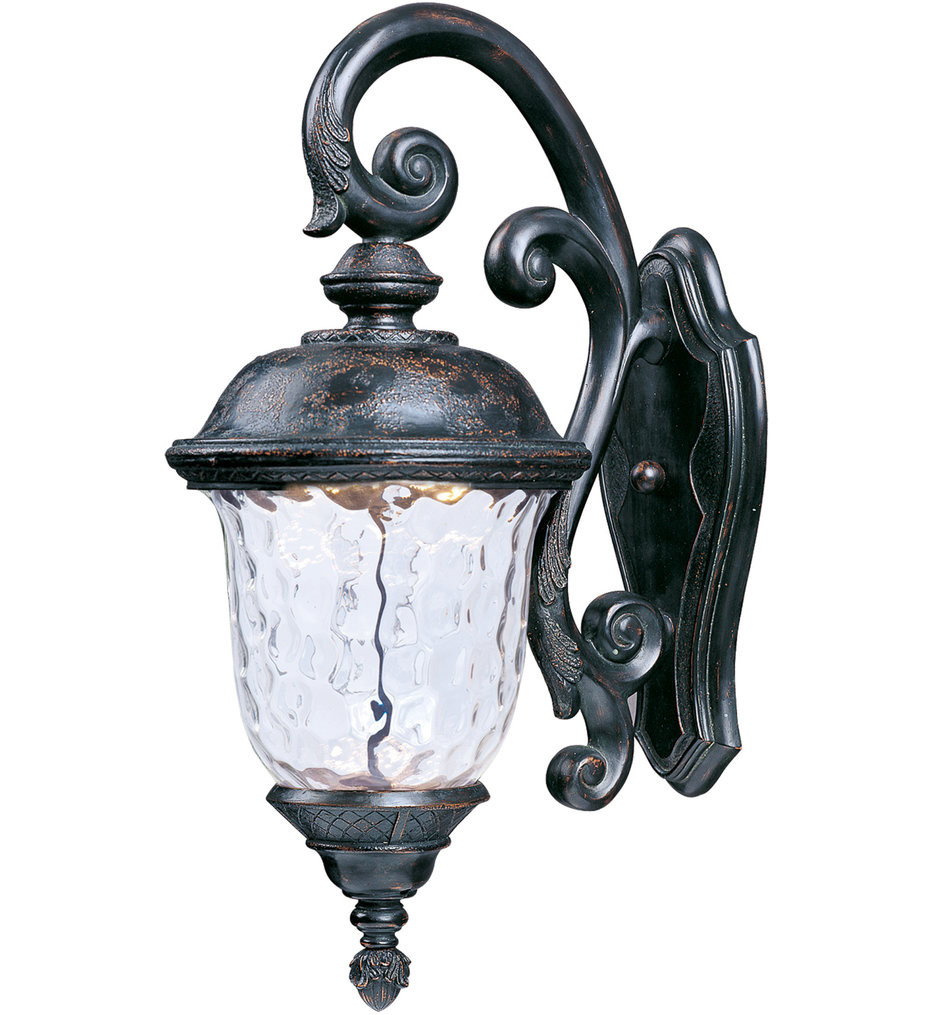 Maxim Lighting - 55497WGOB - Carriage House Oriental Bronze 26.5 Inch 1 Light LED Outdoor Wall Sconce
