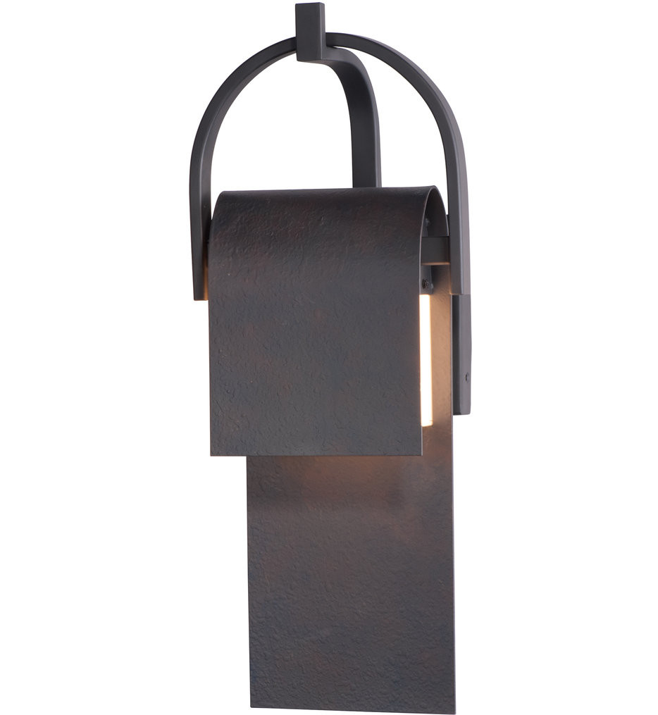 Maxim Lighting - 55595RF - Laredo Rustic Forge 19.5 Inch Outdoor Wall Mount