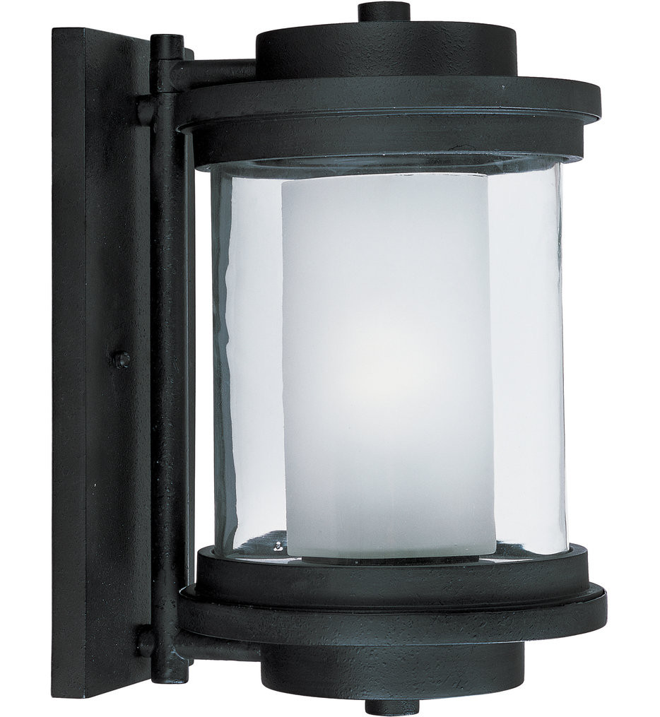 Maxim Lighting - Lighthouse Anthracite 13 Inch Outdoor Wall Mount