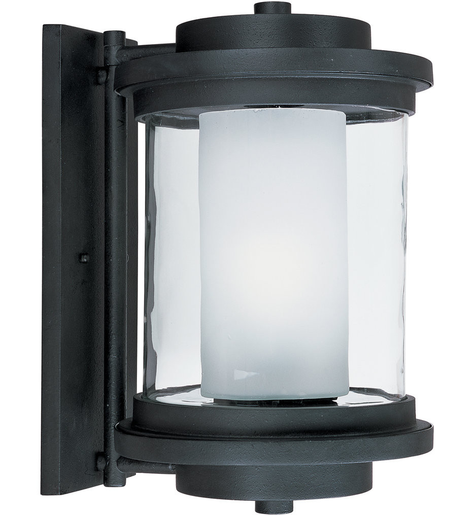 Maxim Lighting - Lighthouse Anthracite 15.5 Inch Outdoor Wall Mount