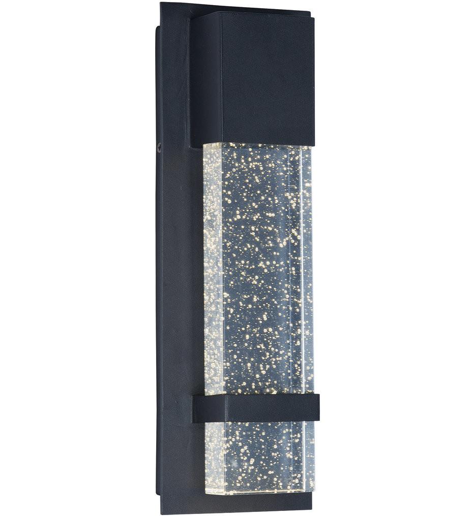Maxim Lighting - 55910BGBK - Cascade Black 4.75 Inch 1 Light Outdoor Wall Mount