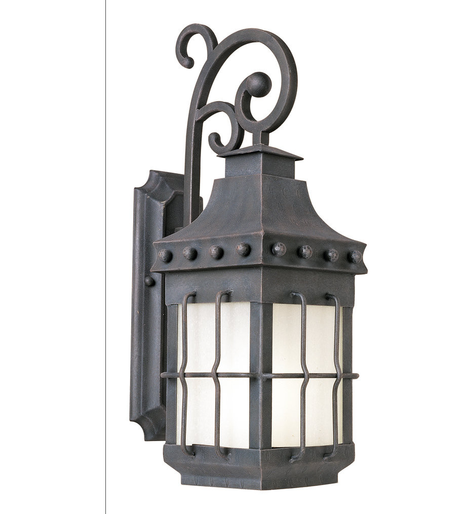 Maxim Lighting - 56084FSCF - Nantucket Country Forge 23 Inch Outdoor Wall Mount