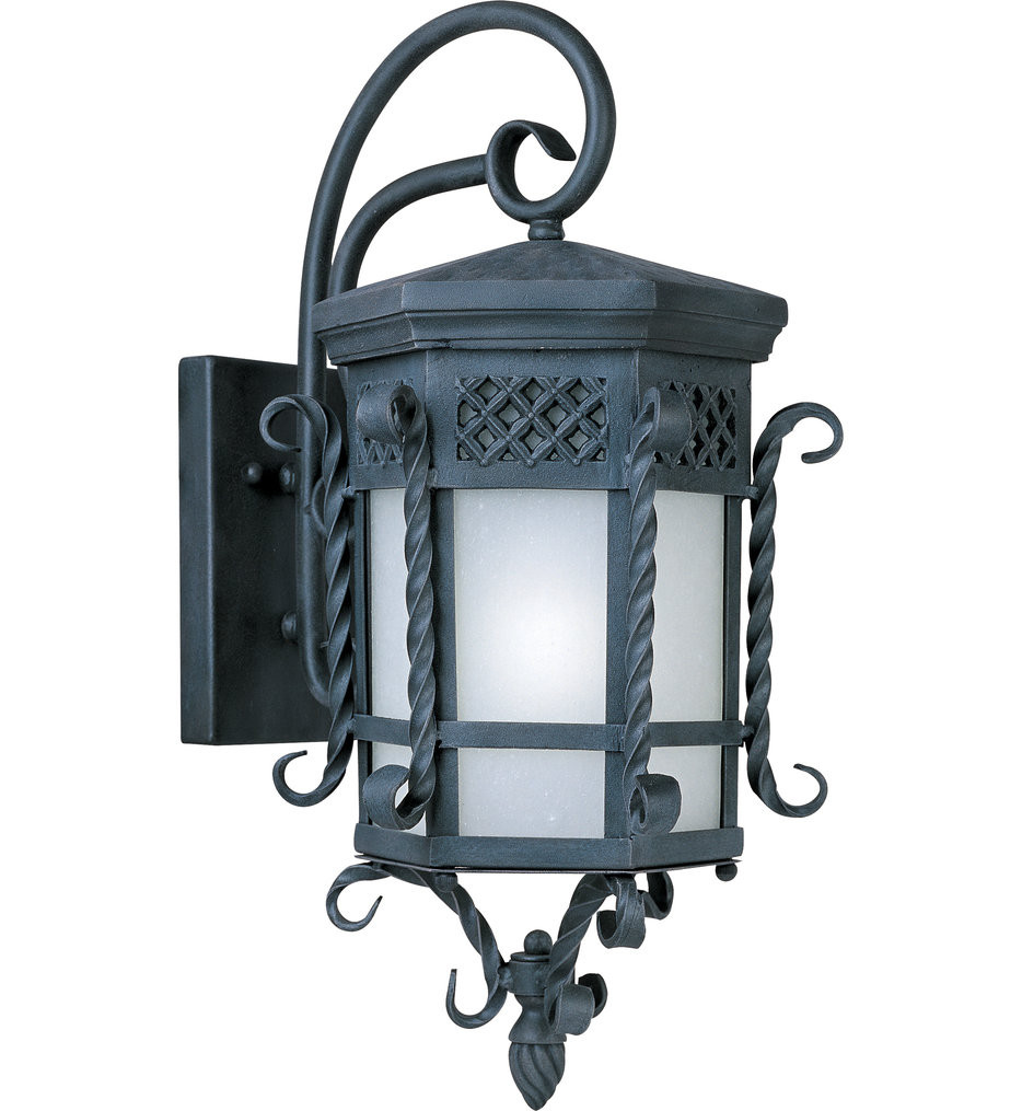 Maxim Lighting - 56324FSCF - Scottsdale Country Forge 23.5 Inch LED Outdoor Wall Mount