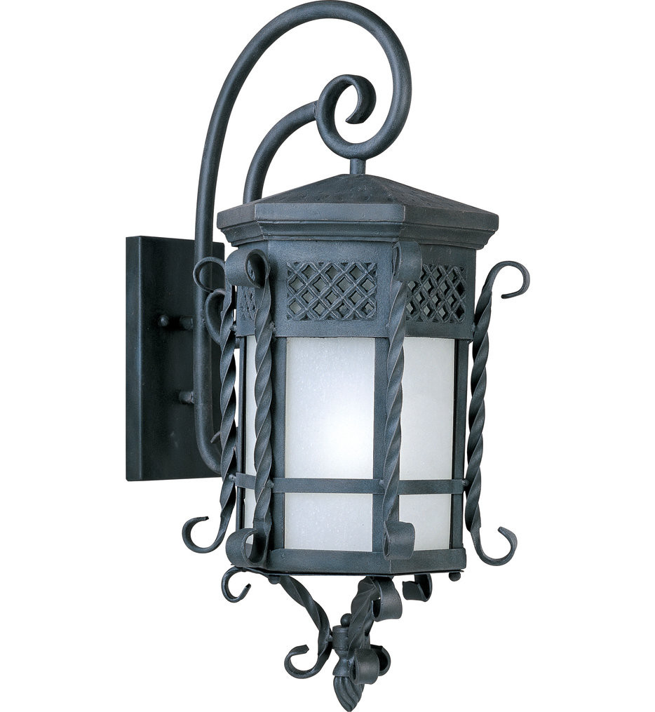Maxim Lighting - 56325FSCF - Scottsdale Country Forge 28 Inch LED Outdoor Wall Mount