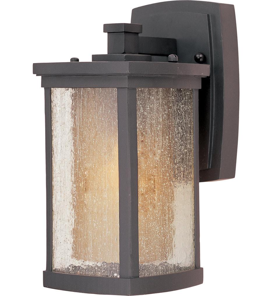 Maxim Lighting - Bungalow Bronze 11 Inch 1 Light Outdoor Wall Mount