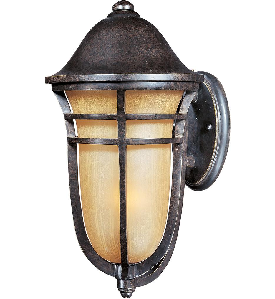 Maxim Lighting - 85403MCAT - Westport Vivex Energy Efficient 1 Light Outdoor Wall Mount