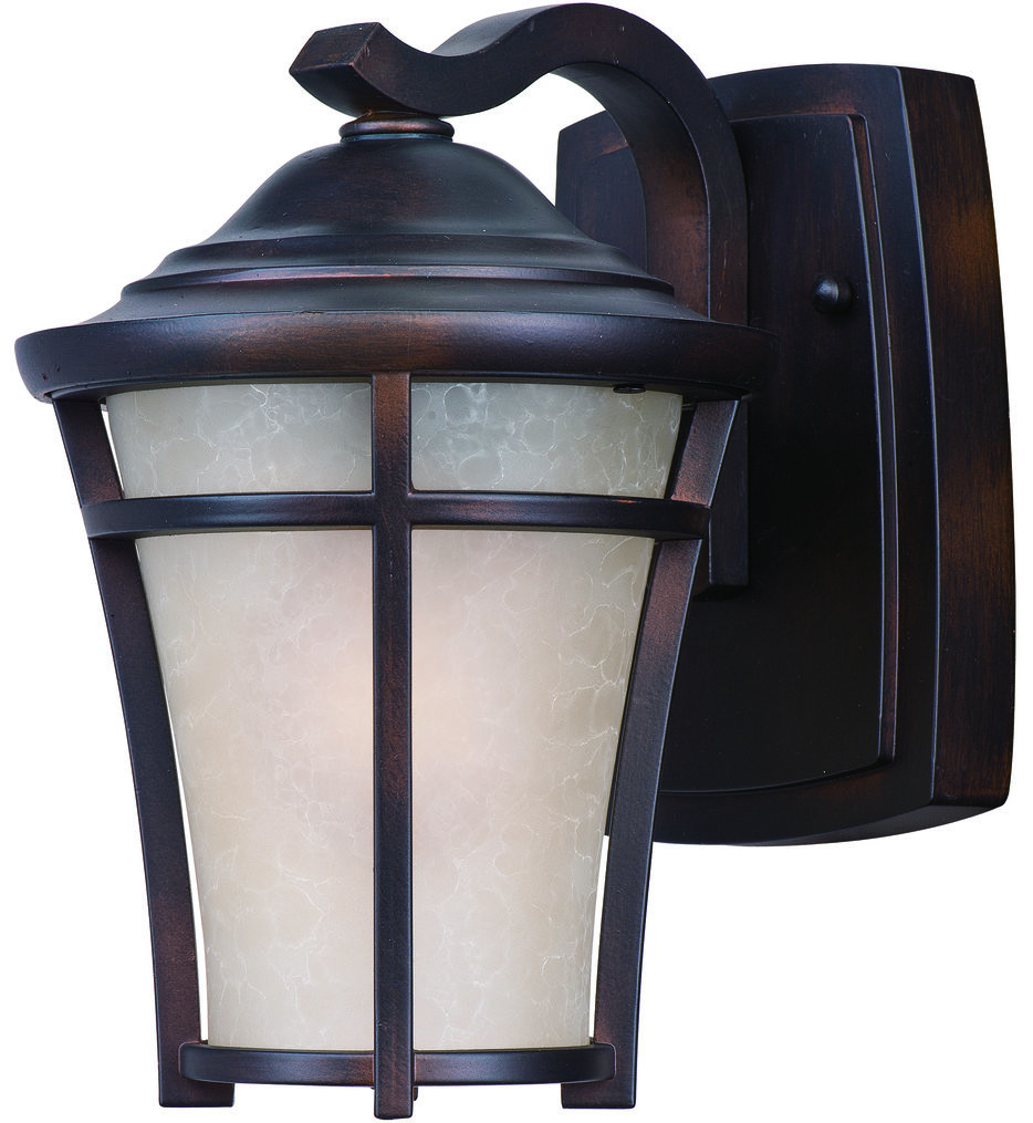 Maxim Lighting - 85502LACO - Balboa Copper Oxide 9.5 Inch Fluorescent Outdoor Wall Mount