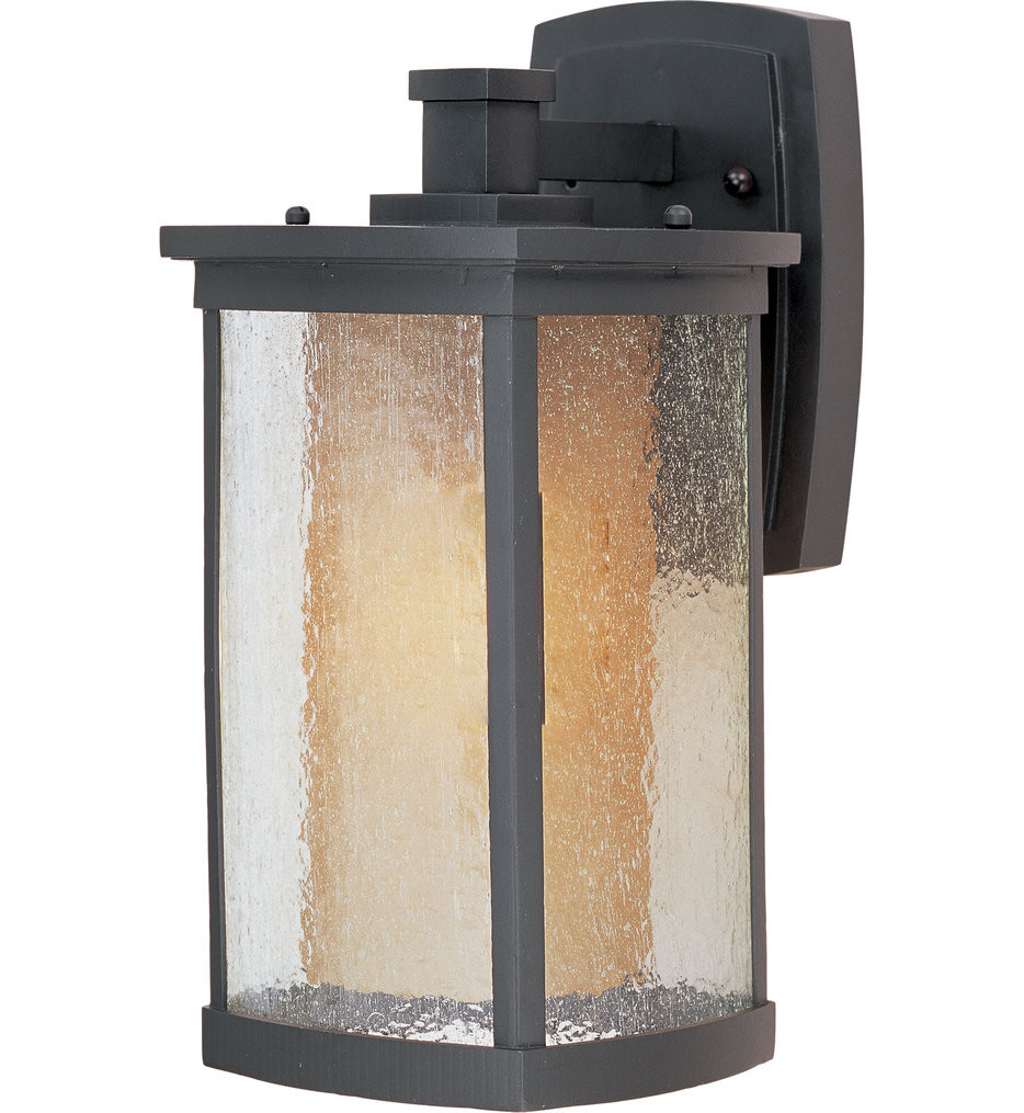 Maxim Lighting - 85653CDWSBZ - Bungalow Bronze 13.75 Inch Fluorescent Outdoor Wall Mount