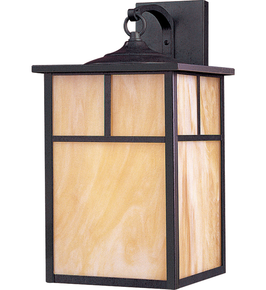 Maxim Lighting - 86054HOBU - Coldwater Burnished 16 Inch 1 Light Fluorescent Outdoor Wall Mount