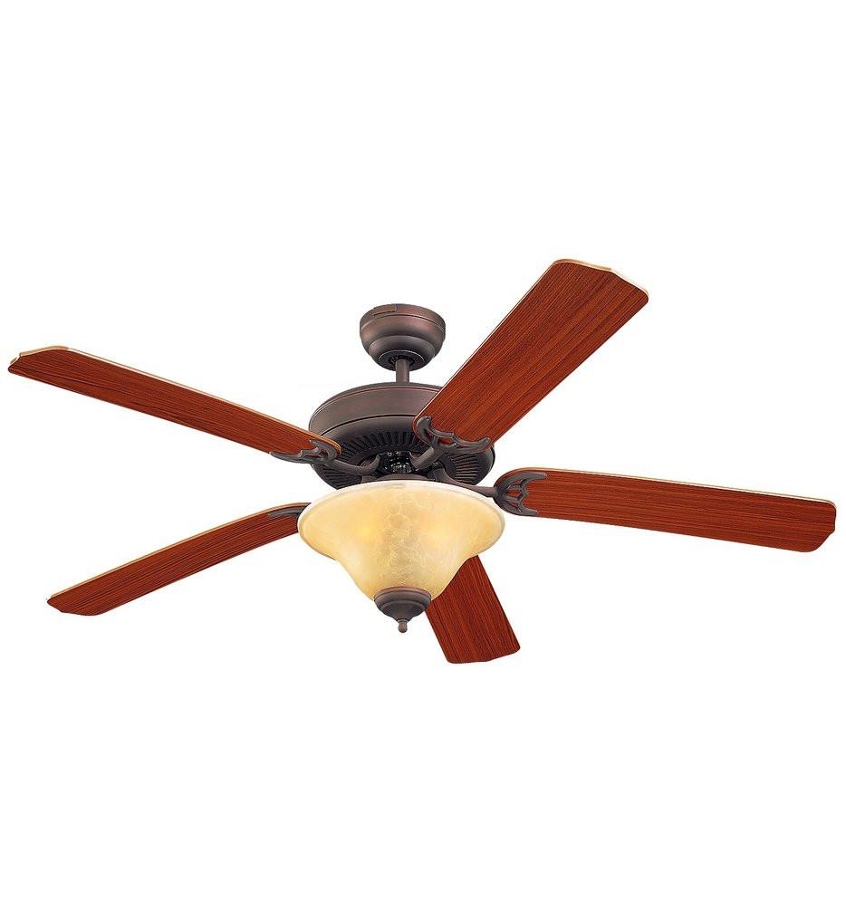 Monte Carlo - Homeowners Deluxe 52 Inch Ceiling Fan