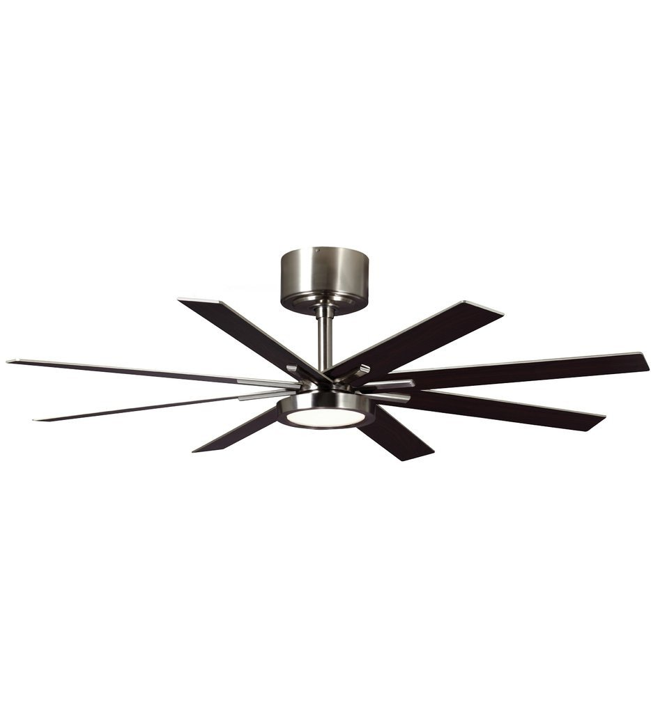 Monte Carlo - Empire Brushed Steel 60 Inch Ceiling Fan