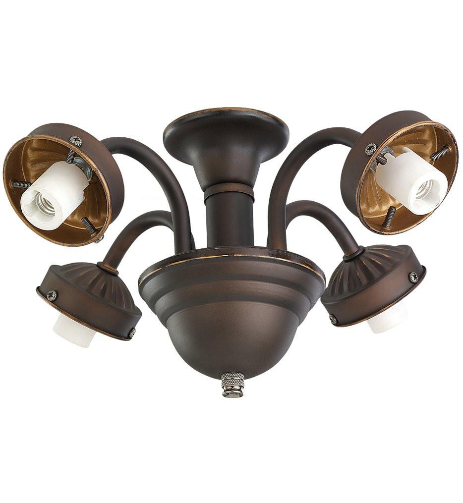 Monte Carlo - MC183RB-L - Roman Bronze 4 Light Fitter