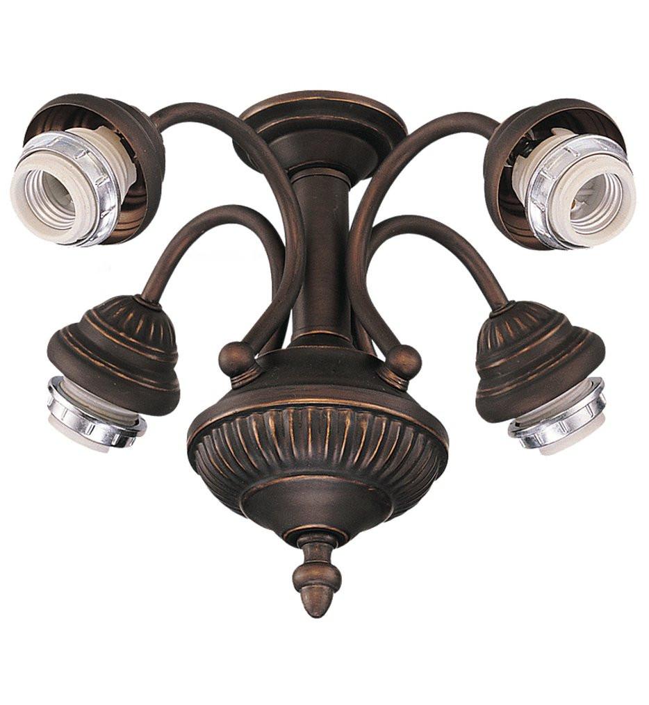 Monte Carlo - MC73RB-L - Roman Bronze 4 Light Fitter