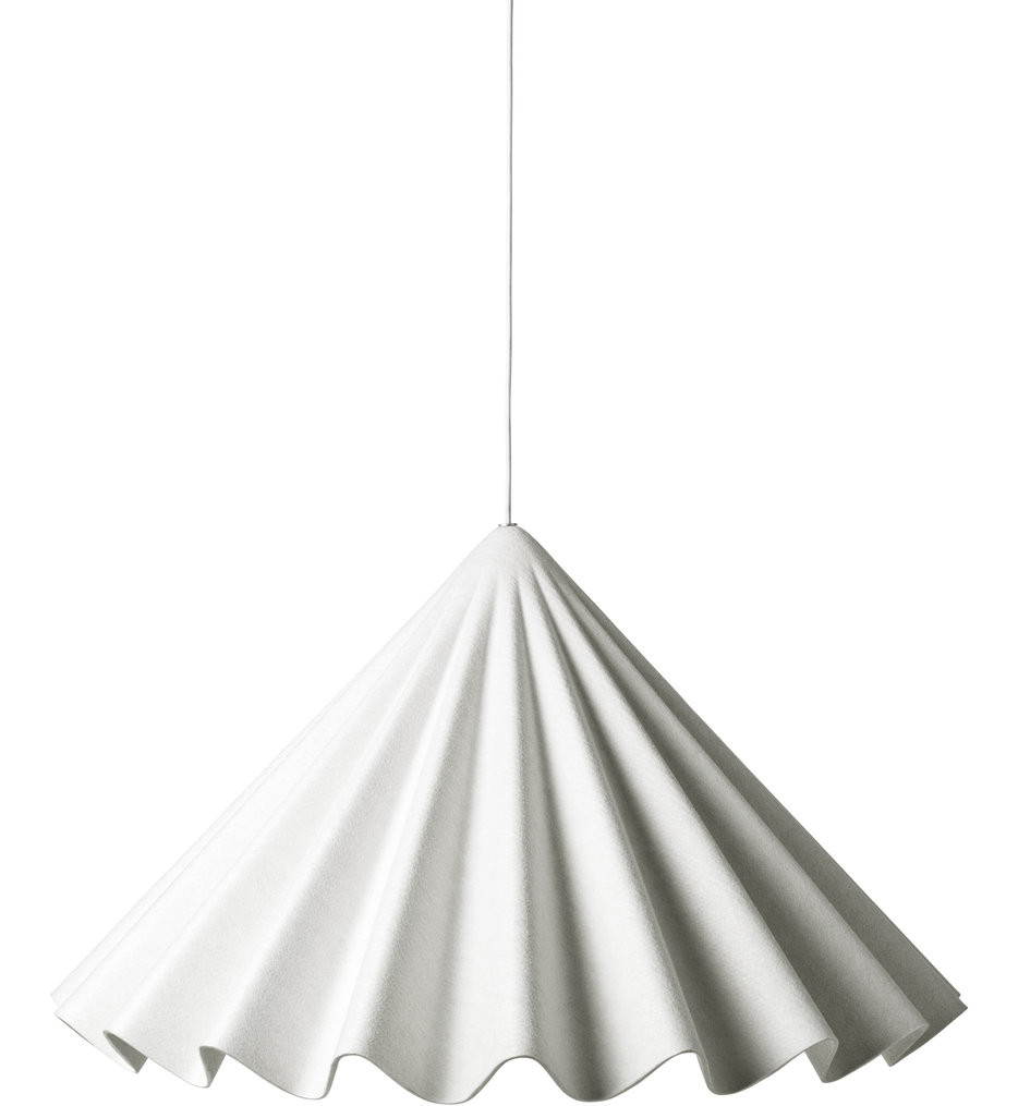 MENU - 1600659 - Dancing Off-White Felt Pendant
