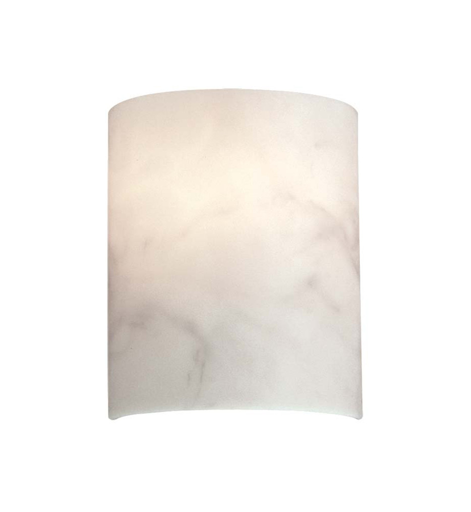 Metropolitan Lighting - N2034 - Single Light 10 Inch High Alabaster Dust Wall Sconce