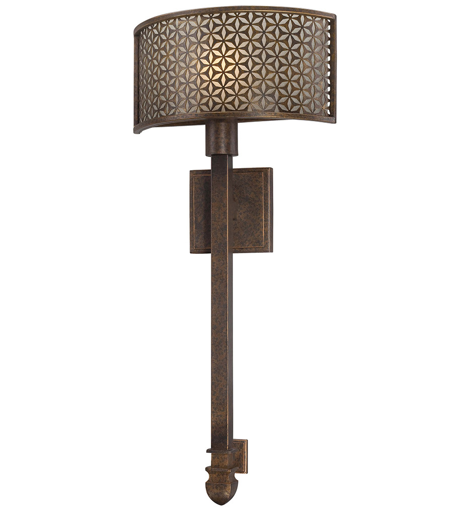 Metropolitan Lighting - N2721-258 - Ajourer Single Light French Bronze Wall Sconce