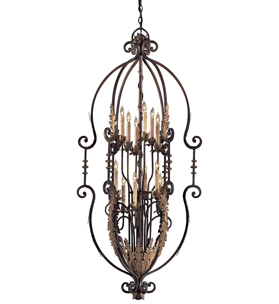 Metropolitan Lighting - N3644-362 - 12 Light Amandari Chandelier