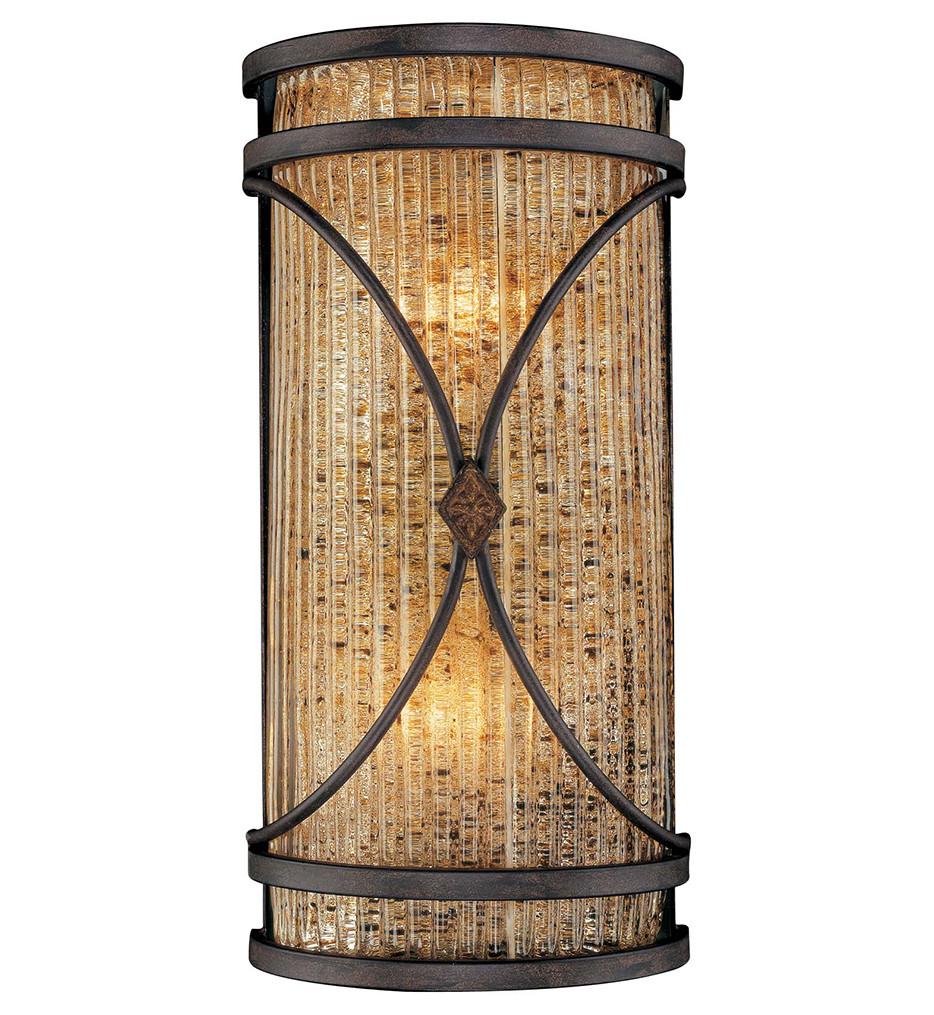Metropolitan Lighting - N6047-159 - Monte Titano 2 Light Oro Wall Sconce