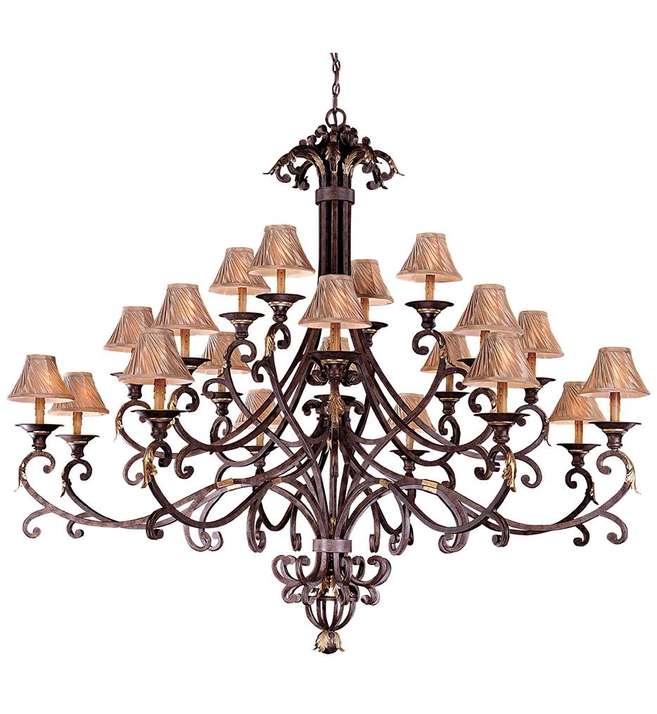 Metropolitan Lighting - N6245-355 - Zaragoza 20 Light Golden Bronze Chandelier