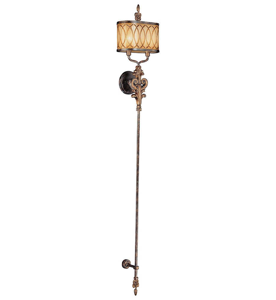 Metropolitan Lighting - N6482-270 - Terraza Villa 2 Light Aged Patina Wall Sconce