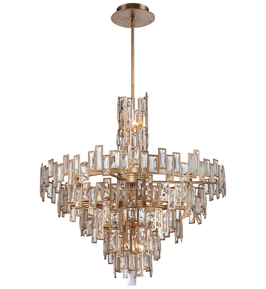 Metropolitan Lighting - N6678-274 - Bel Mondo 21 Light Luxor Gold Chandelier