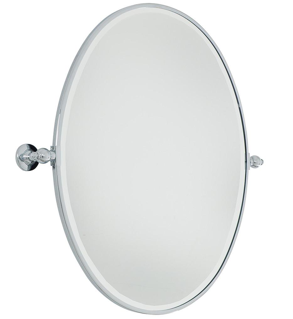 Minka-Lavery - Beveled Large Oval Mirror