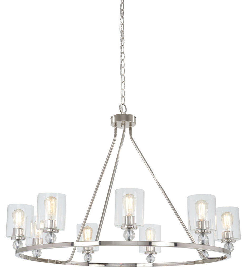 Minka-Lavery - Studio 5 45 Inch 9 Light Chandelier