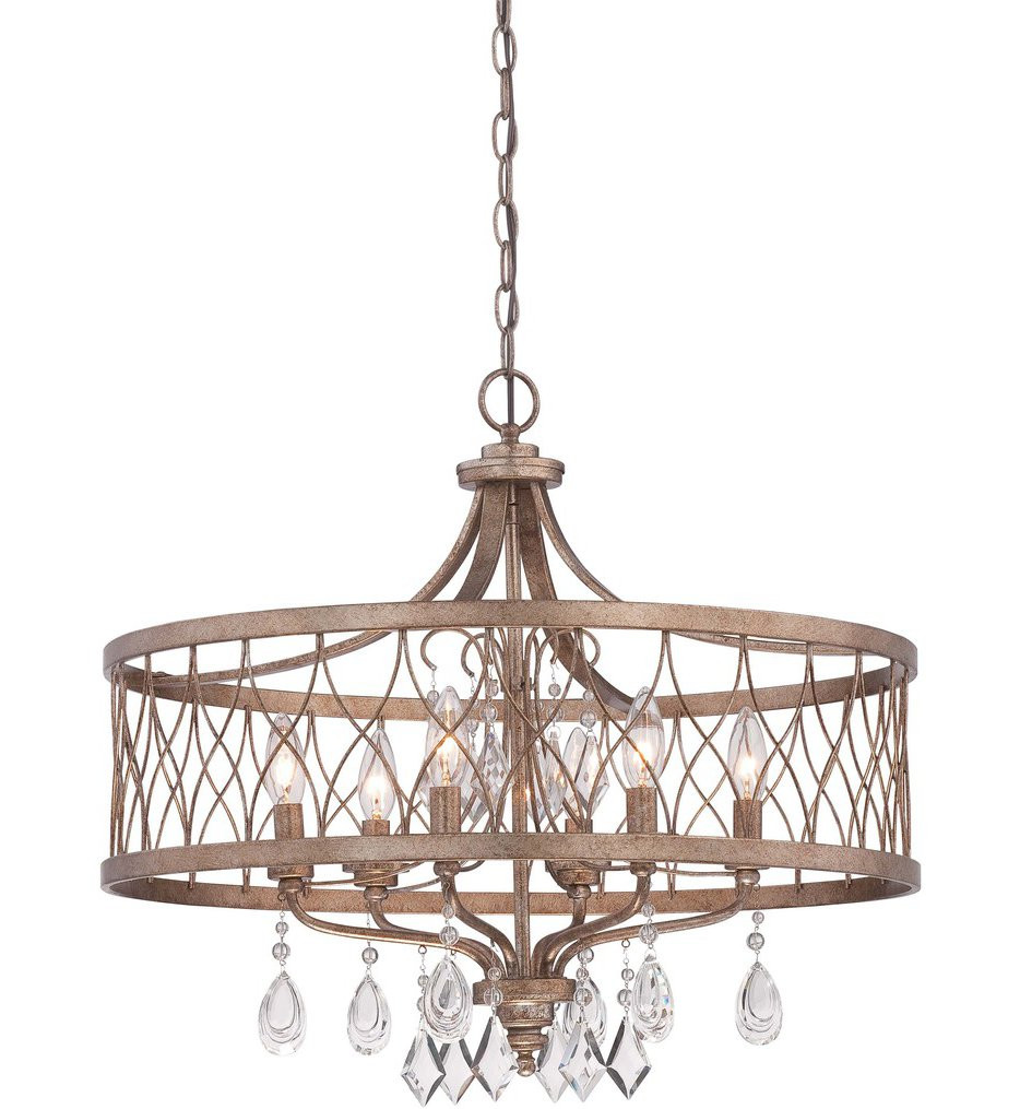 Minka-Lavery - 4406-581 - West Liberty 6 Light Olympus Gold Chandelier