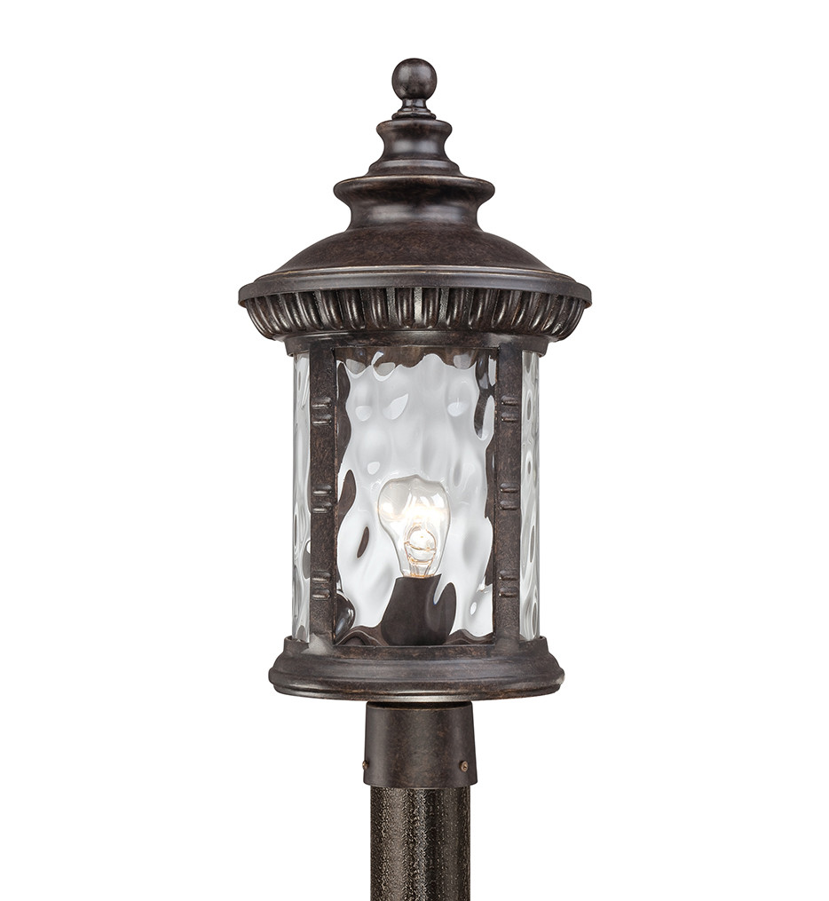 Quoizel - Chimera Imperial Bronze 10.5 Inch Outdoor Post Light