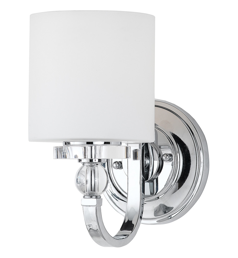 Quoizel - DW8701C - Downtown Polished Chrome Wall Sconce