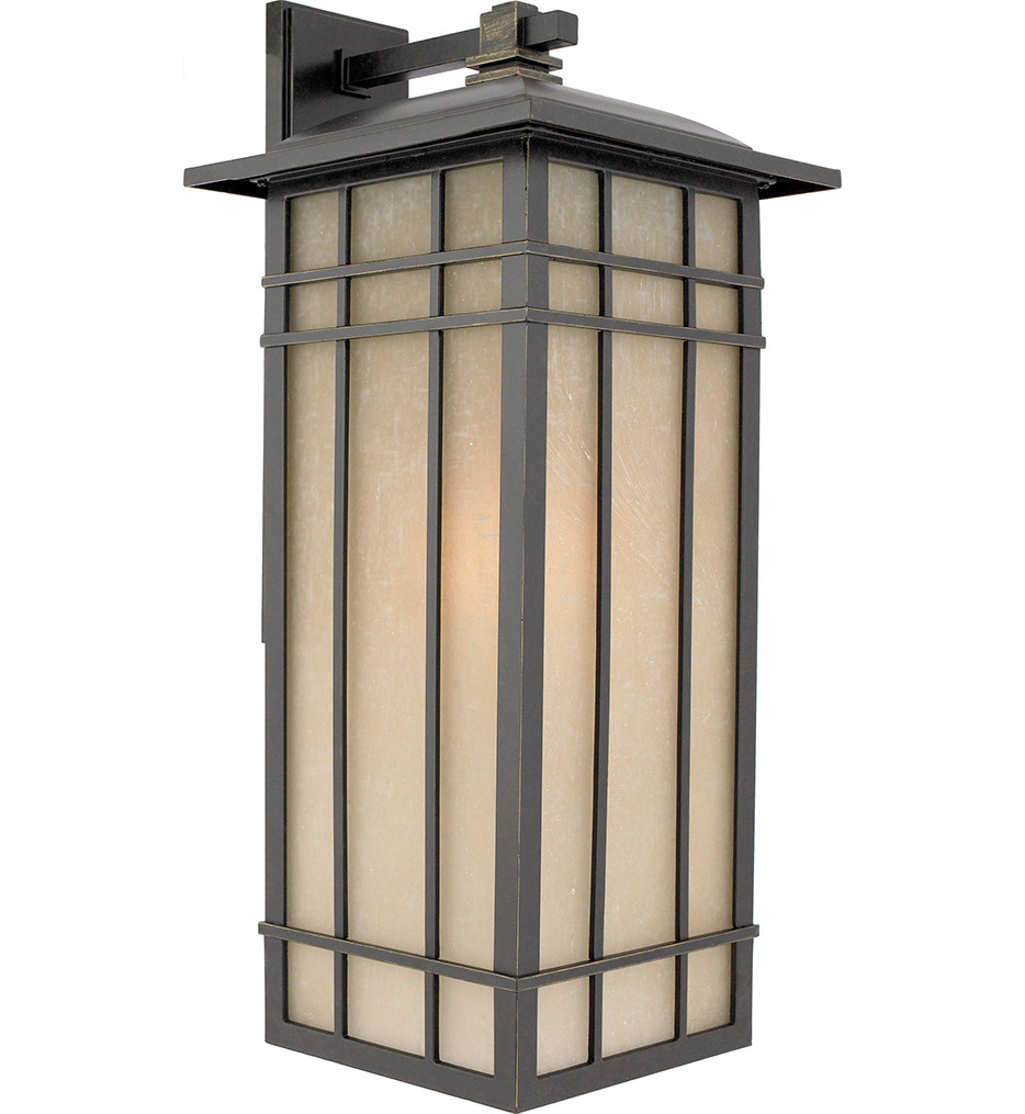 Quoizel - Hillcrest Imperial Bronze 11 Inch Outdoor Wall Lantern