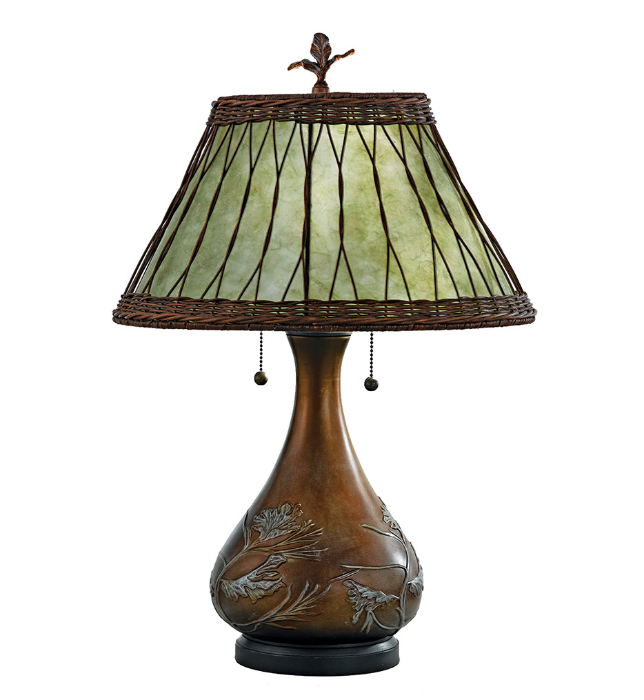 Quoizel - MC120T - Mica Table Lamp