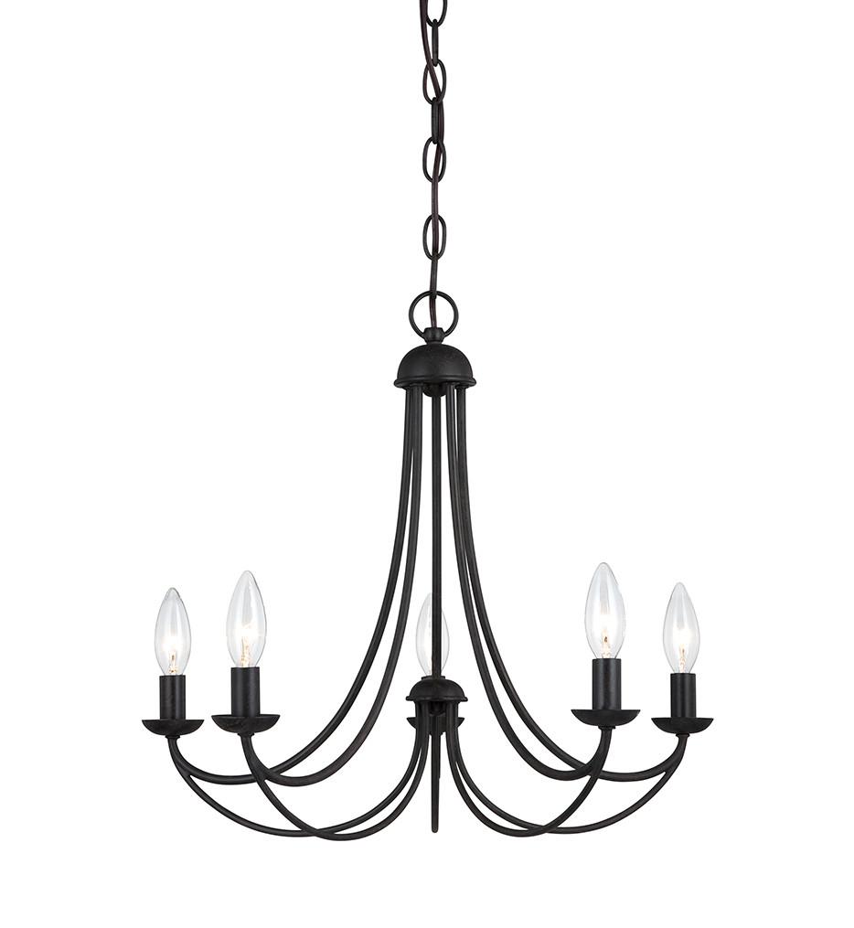 Quoizel - MRN5005IB - Mirren Imperial Bronze 5 Light Chandelier