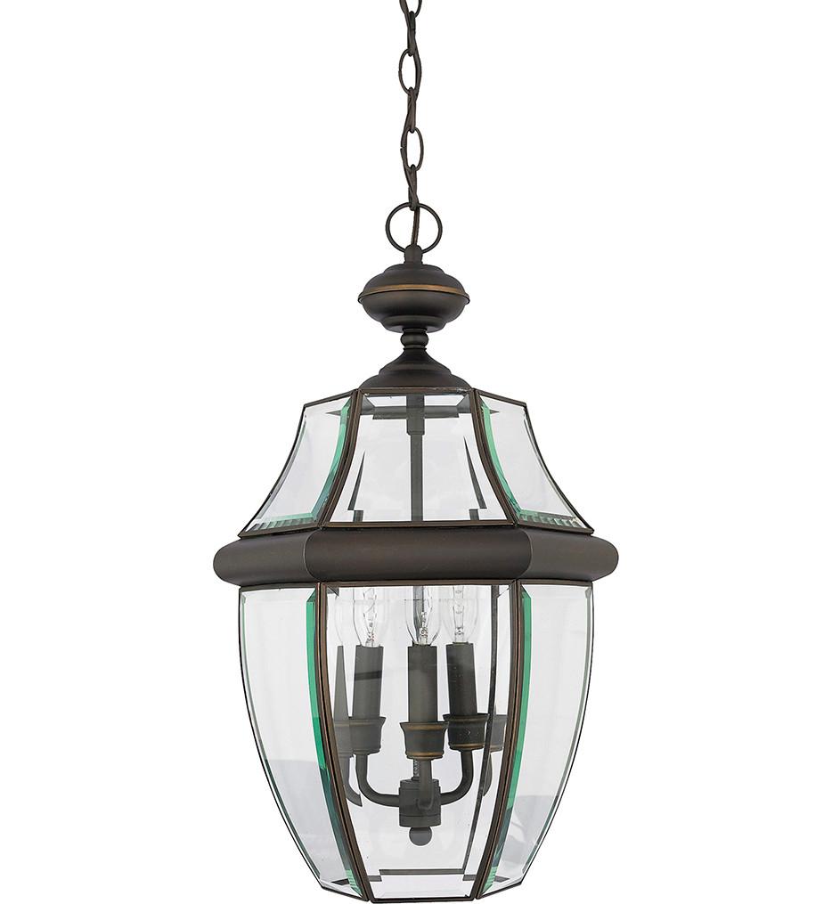 Quoizel - Newbury 3 Light Outdoor Hanging Lantern
