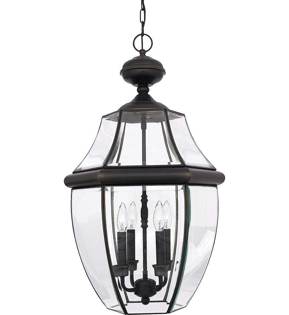Quoizel - Newbury 4 Light Outdoor Hanging Lantern