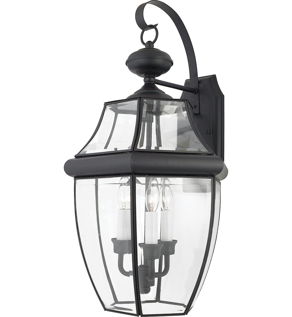 Quoizel - Newbury 3 Light Outdoor Wall Sconce