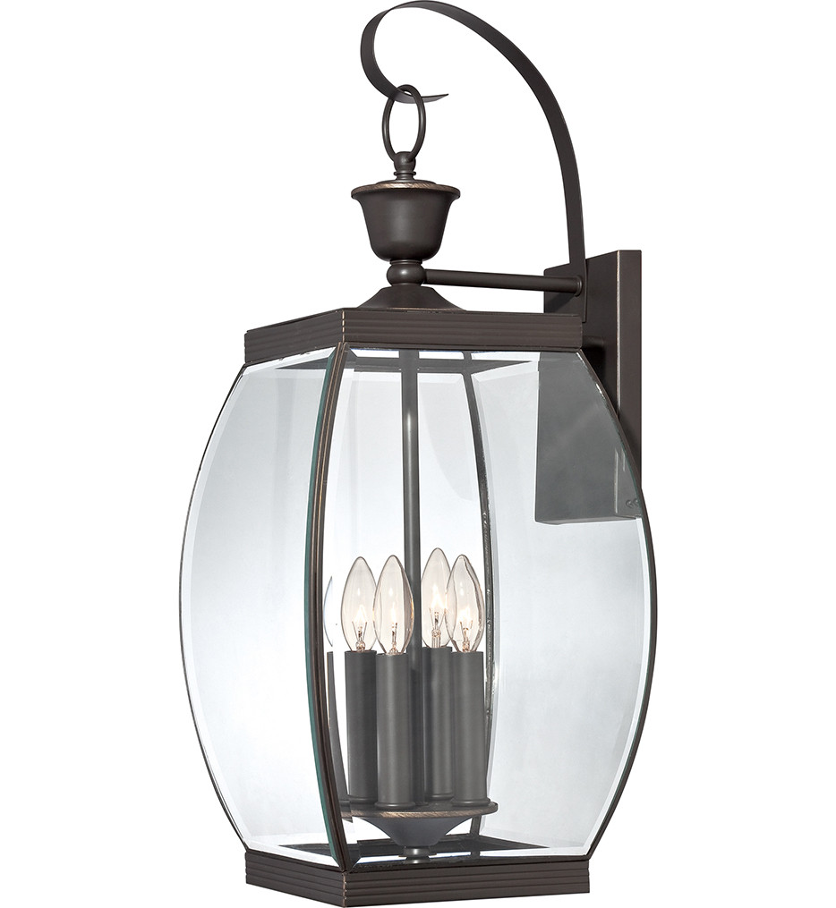 Quoizel - Oasis 4 Light Outdoor Wall Sconce