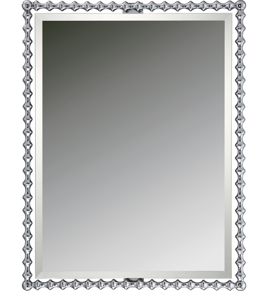 Quoizel - QR1864C - Quoizel Reflections Polished Chrome 25.5 Inch Mirror
