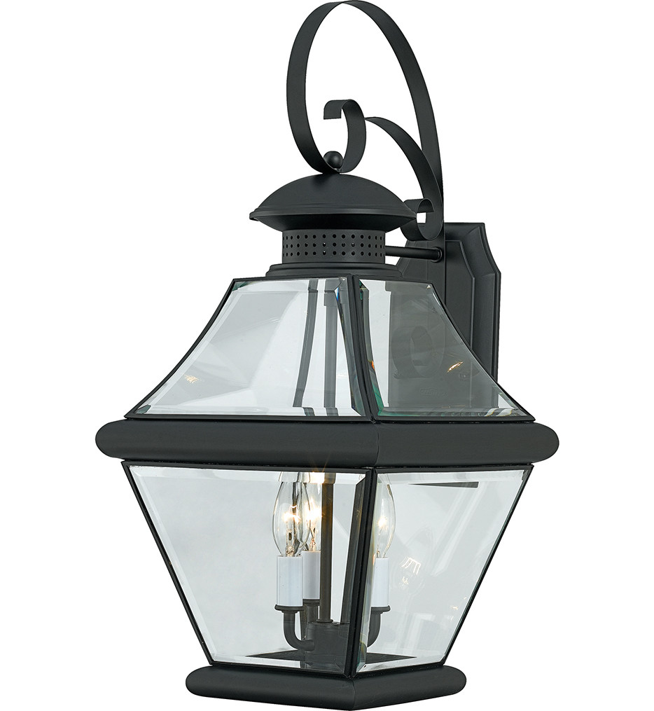 Quoizel - Rutledge 3 Light Outdoor Wall Sconce