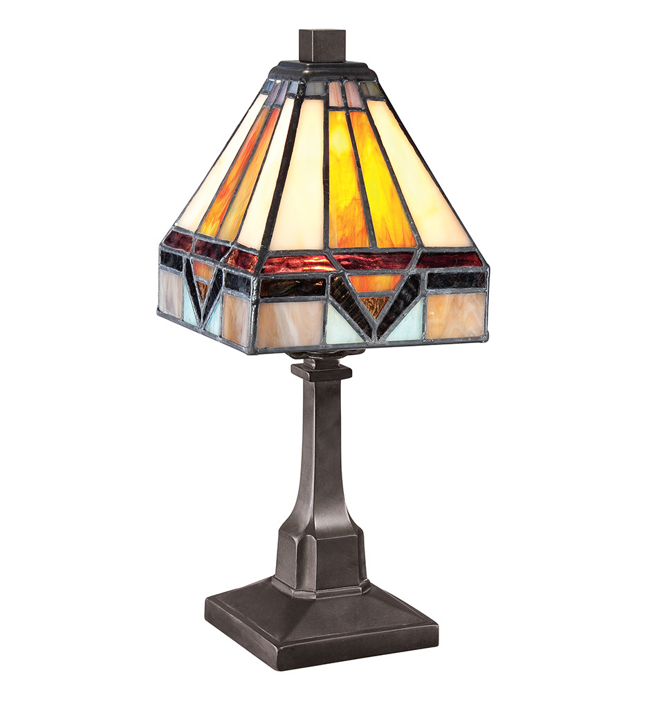 Quoizel - TF1021TVB - Tiffany Vintage Bronze Table Lamp
