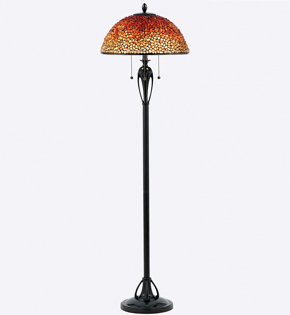 Quoizel - TF135FBC - Pomez Burnt Cinnamon Floor Lamp