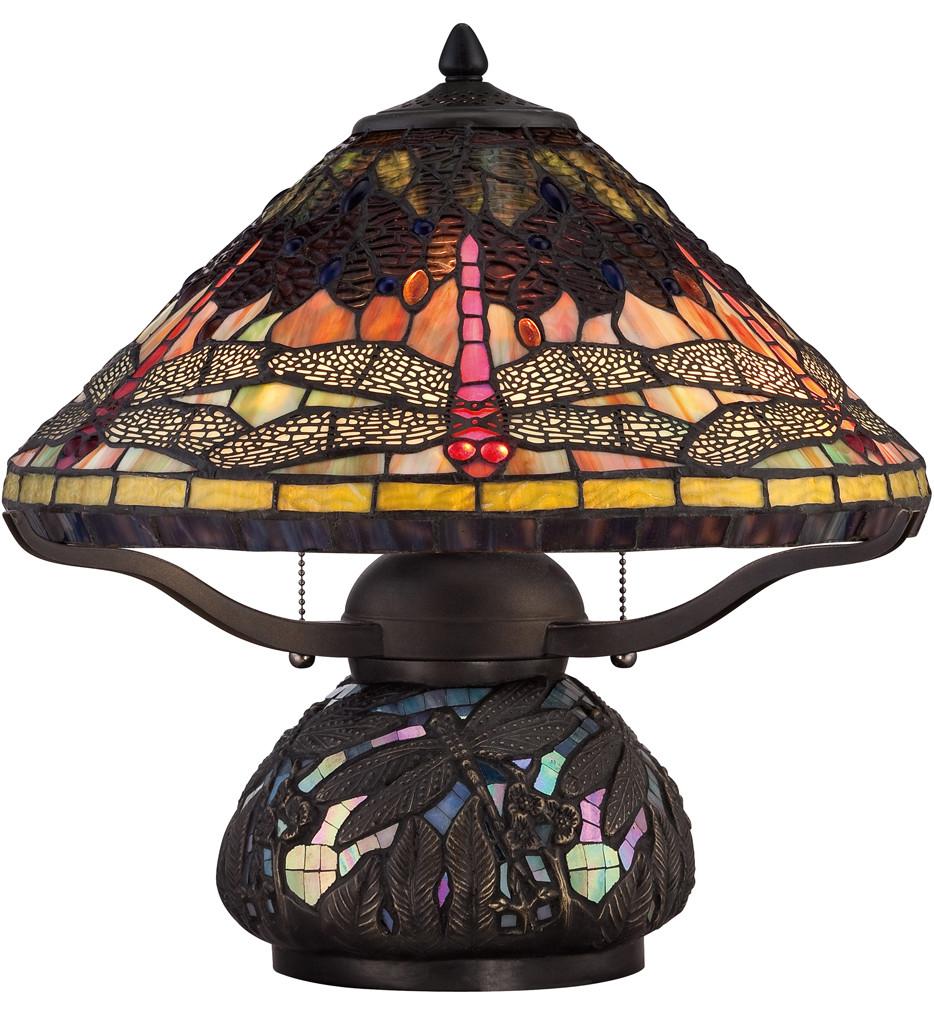 Quoizel - TF1851TIB - Tiffany Imperial Bronze 16.5 Inch Table Lamp