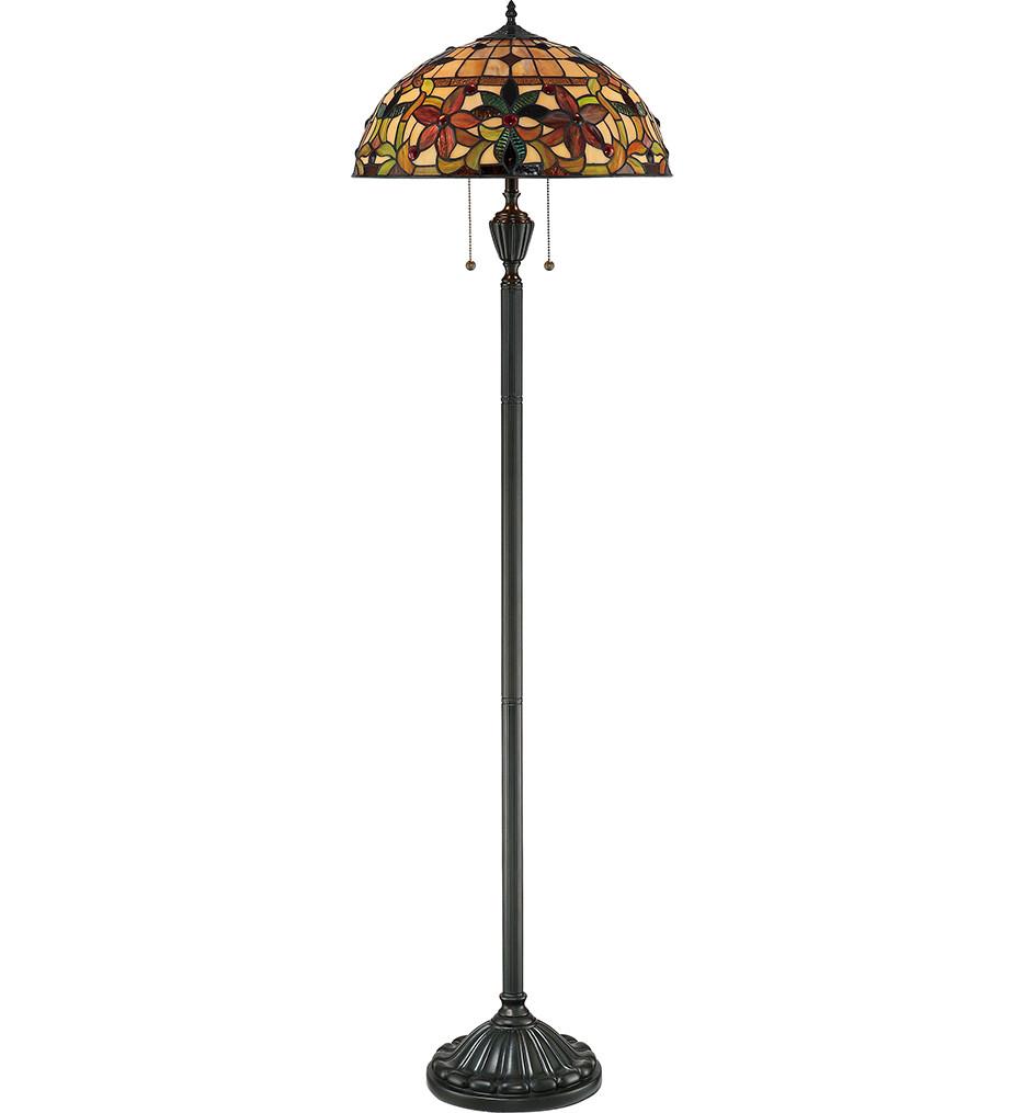 Quoizel - TF878F - Kami Vintage Bronze Floor Lamp