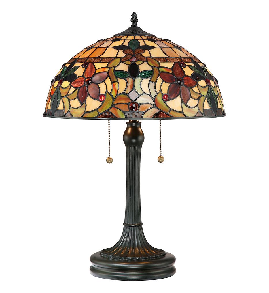 Quoizel - TF878T - Kami Vintage Bronze Table Lamp